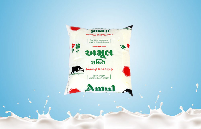 Amul Shakti Milk 500ml Baroda Dairy