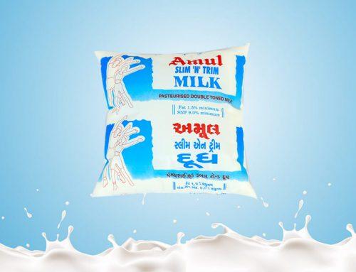 Amul Slim N Trim Milk – 500,200ML